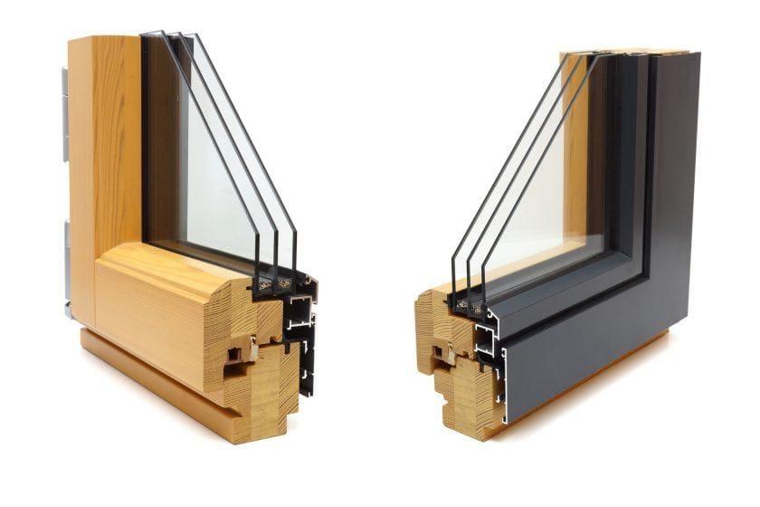 okno drewniano-aluminiowe