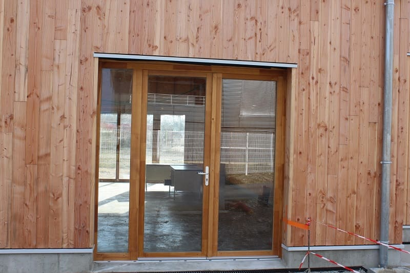 Okna drewniane iroko