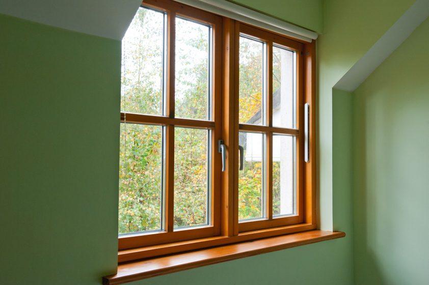 Drewniane okna: walory praktyczne